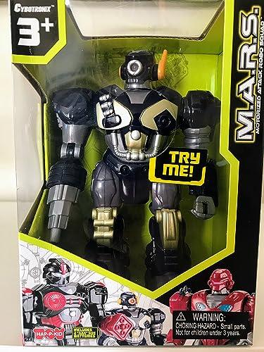 precios mas bajos M.A.R.S. Motorized Walking Cyber Bot Attack Robot Dark Dark Dark azul w Bronze oro - Polar Captain by Cybotronix  alta calidad general