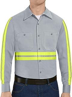 Red Kap Men's Wrinkle Resistant WorkShirt