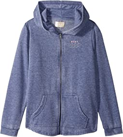 Roxy Kids - Teasing You Palm Tree Hoodie (Big Kids)