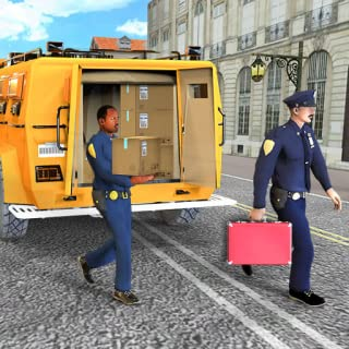 Real Bank Manager Cash Transport Truck Sim 2018