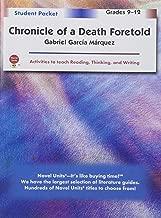 chronicle of a Death foretold دليل للطلاب والمدرسين العبوة