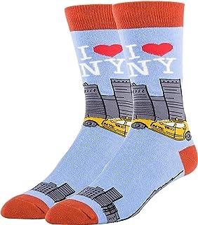 جوارب Oooh Yeah Socks, Men's Cotton Crew Socks