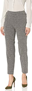 Nine West Womens 60525699 Marble Knit Pant Pants - Black