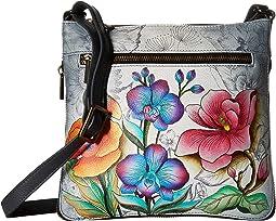Anuschka Handbags 550 Expandable Travel Crossbody