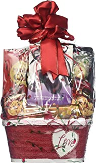 X's and O's, Valentines Day Gift Basket - Your Special Loved One Will Be Thrilled to Receive This Basket Loaded With Gourm...