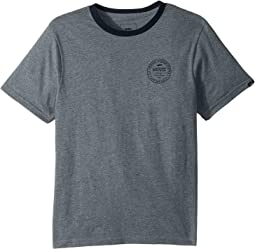 Vans Kids - Established 66 Ringer T-Shirt (Big Kids)