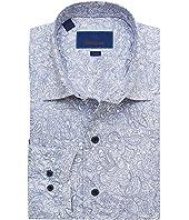 Trim Fit Paisley Fusion Shirt