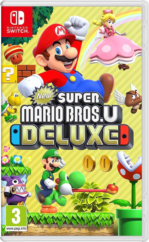 New Super Mario Popular Bros. U Low price Deluxe Switch Nintendo