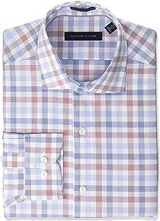 Men's Dress Shirt Regular Fit Non Iron Check