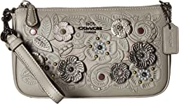 COACH - Nolita Wristlet 19 with Tea Rose Metal Tooling