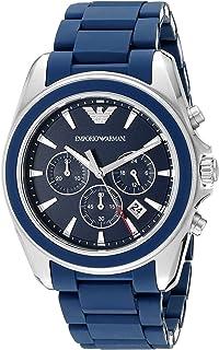 Emporio Armani Men's AR6068 Sport Silver Silicone Watch