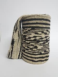 Authentic Indigeneous artisan - Arhuaco handbag - Colombian mochila - Handmade and woven from sheep wool by women 303