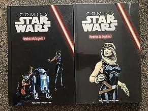 Comics Star Wars Herdeiros do Império vol 1 e 2 (Planeta Deagostini vol 40 e 41 combo)