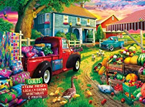 Buffalo Games - Country Life - Quilt Farm - 1000 Piece Jigsaw Puzzle