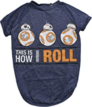 Star Wars This Is How I Roll Dog Tee | Star Wars BB-8 Dog Shirt for All Size Dogs