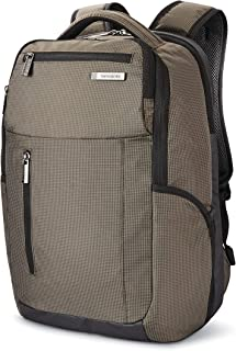 Samsonite Tectonic Lifestyle Crossfire Business Backpack, Green/Black, One Size