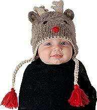 Huggalugs Boys or Girls Rudolph Reindeer Beanie Hat
