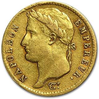 1807 FR - 1813 France Gold 20 Francs Napoleon I Avg Circ Gold Very Good