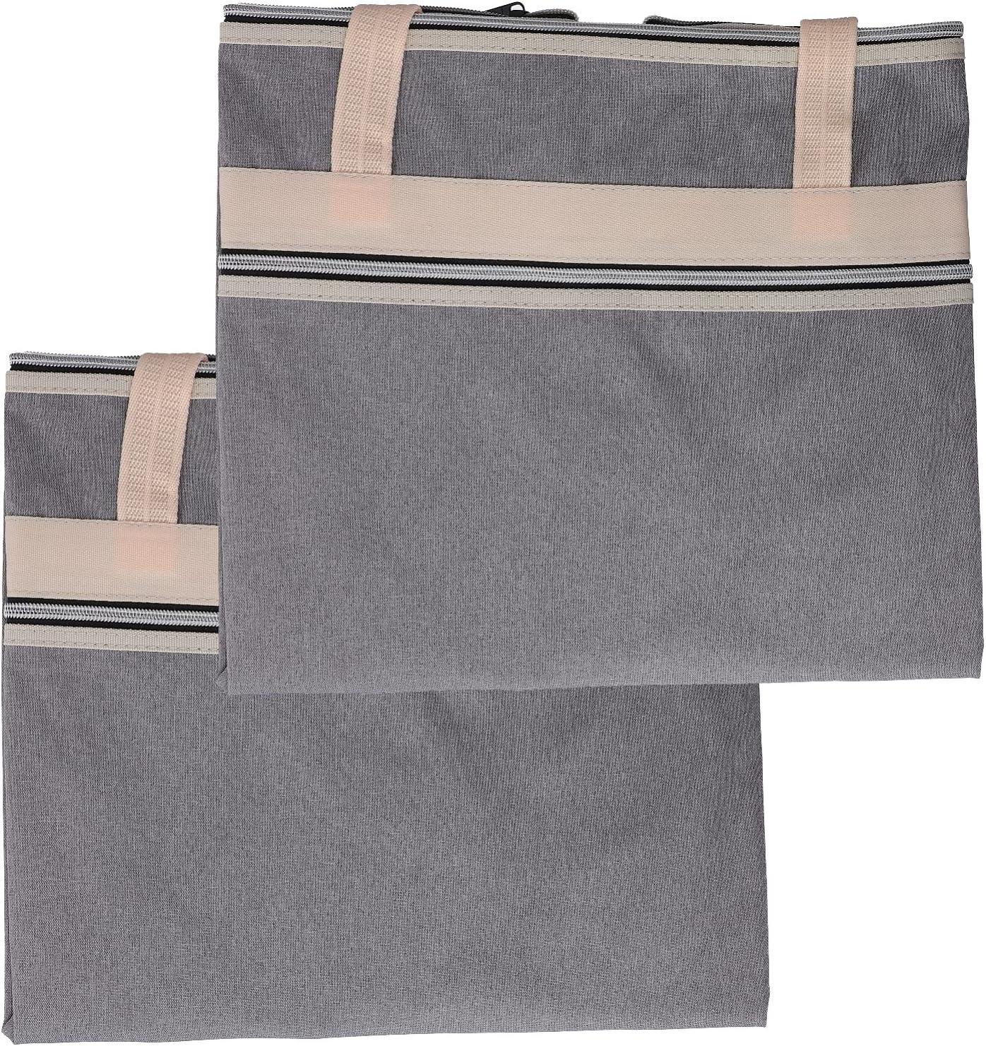 Healifty 2pcs Washington Mall Art Portfolio Bag Storage To Waterproof Poster New product type