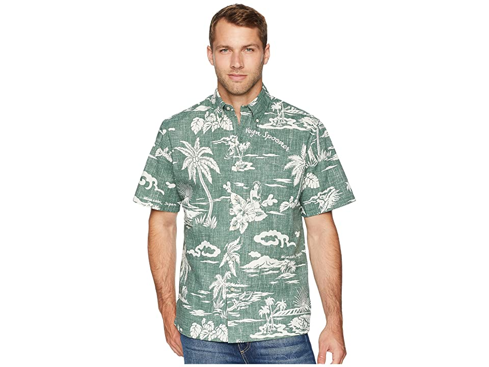 Reyn Spooner My Private Isle Classic Fit Aloha Shirt (Dark Forest) Men