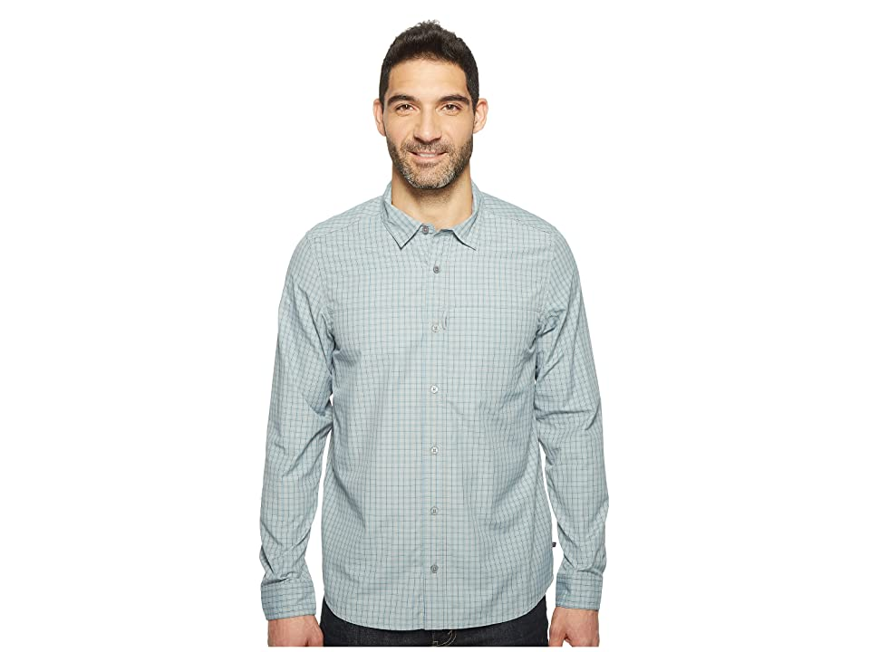 Toad&Co Debug Quick-Dry Long Sleeve Shirt (Light Ash) Men