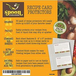 Best recipe card holder craft Reviews