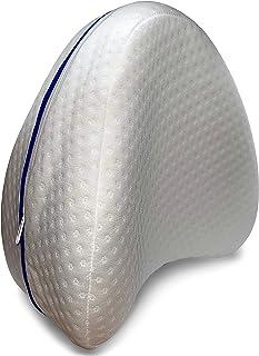 Almohada Piernas Rodillas Ortopedica para Dormir,Espuma con Memoria,Alivio del Dolor De Espalda,Cadera y Articulaciones - Cojin para Dormir De Lado