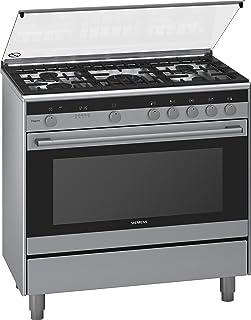 Siemens iQ700 Dual Fuel Range Cooker, Silver, HQ738357Mr, 1 Year Warranty