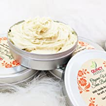Pure African Whipped Shea Butter with Vanilla Buttercream Fragrance Great for Skin & Hair, for Dry Skin, Stretch marks, Eczema, Babies Skin