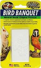 Zoo Med Mineral Block Original Formula Banquet Bird Food, 5-Ounce