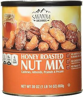 Savanna Orchards Gourmet Honey Roasted Nut Mix, 30 Oz