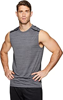 RBX Active Men's Lightweight Quick Dry Performance Sleeveless Muscle Tee