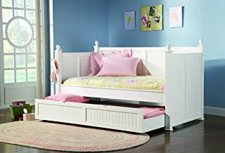 Twin Daybed with Trundle White
