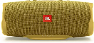 JBL Charge 4 Portable Bluetooth Speaker and Power Bank with Rechargeable Battery for More Devices – Waterproof – Yellow