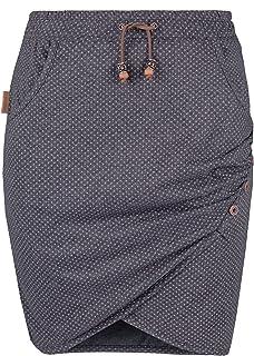 alife and Kickin Lucy Women's Summer Skirt, Skirt, Emerald Circles