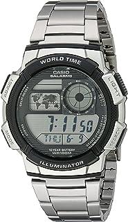 Casio Hombre AE1000WD-1AVCF Silver-tone reloj digital