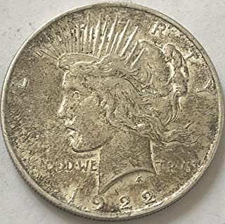 1922 P Silver Peace Dollar Seller Choice Fine Details