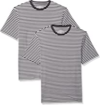 Best black and white striped shirt mens Reviews