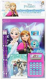 Frozen Disney Elsa and Anna School Stationery Set for Girls