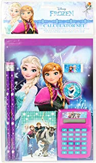 Frozen Disney Elsa and Anna School Stationery Set for Girls
