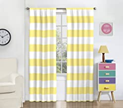 """ECLIPSE Fashion Curtains for Bedroom-Forest Friends 42"""" x 63"""" Rod Pocket Single Panel Privacy Window Treatment Living Roo..."""