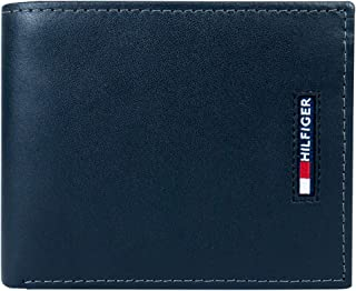 Men's Leather Wallet-Bifold with RFID Blocking Protection