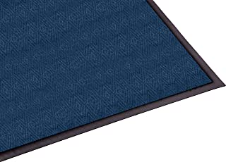 Guardian Golden Series Chevron Indoor Wiper Floor Mat, Vinyl/Polypropylene, 3'x4', Blue