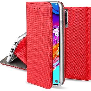 Moozy Funda para Samsung A70, Rojo: Amazon.es: Electrónica