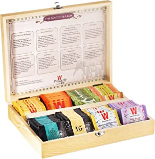 Wissotzky Magic Tea Chest, Assorted Collection, 88 Count