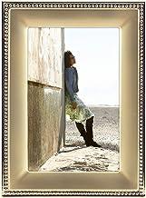 إطار صورة بدرجتين من اللون خرز معدني كلاسيكي من تصميمات مالدن إنترناشونال 4x6 5295-46