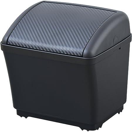 セイワ(SEIWA) 車用 ゴミ箱 ダストボックスS カーボン ブラック×カーボンシボ W911