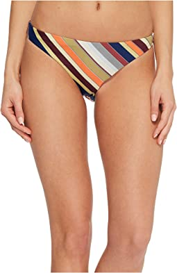 THE BIKINI LAB Funkytown Cinched Back Hipster Bikini Bottom