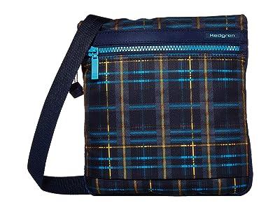 Hedgren Leonce RFID Shoulder Bag (Tartan Print) Shoulder Handbags