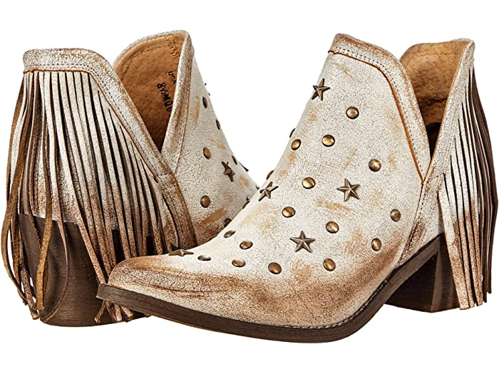 Corral Boots Q0189 Studded Fringe Booties